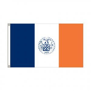 City of New York New York flag