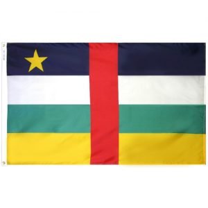 Central Africa Republic flag