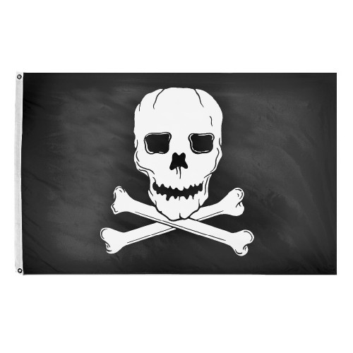 Skull and Crossbones Flag