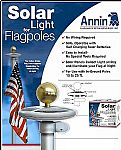 Solar Flagpole Light LED