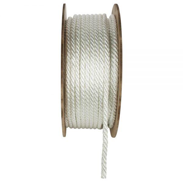 Nylon flagpole rope
