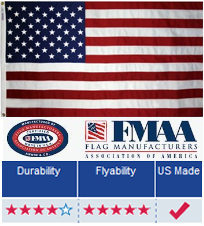 Nyl- Glo American Flag
