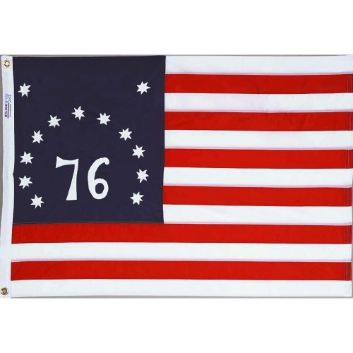 New 3x5 Embriodered Nylon USA Flag American