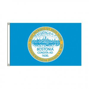 City of Boston Massachusetts flag