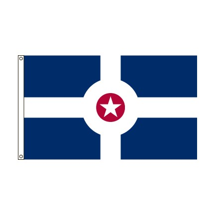 City of Indianapolis flag