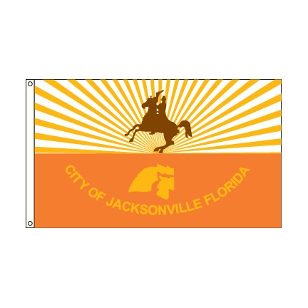 City of Jacksonville Florida flag