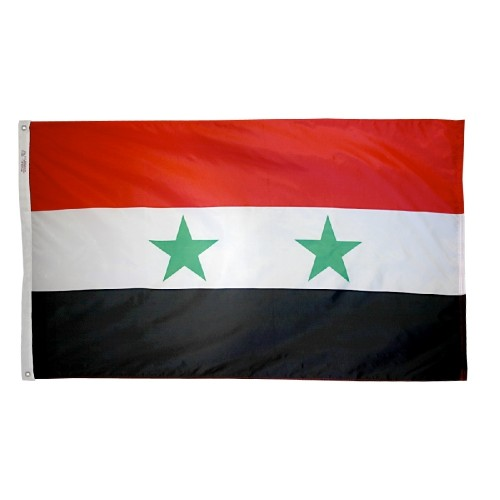 Syria Flag American Flagpole Flag Co - Syria flag