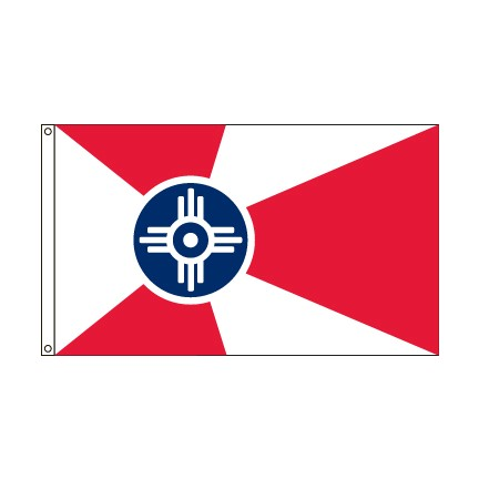 City of Wichita Kansas flag