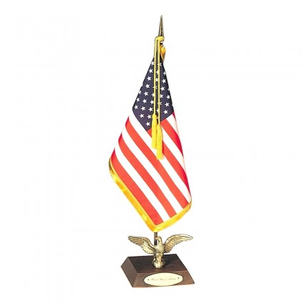 Ambassador US Desk Flag Set