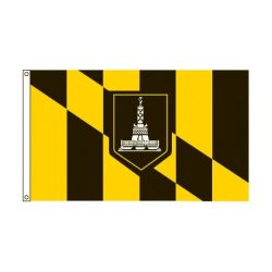 City of Baltimore Maryland Flag