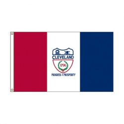 City of Cleveland Ohio flag