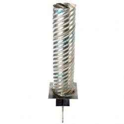 Corrugated Steel Flagpole Foundation Sleeve