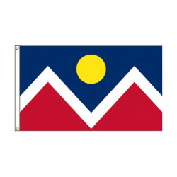 City of Denver Colorado flag