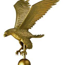 Gold Flagpole Eagle