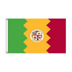 City of Los Angeles flag