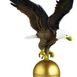 Painted Flagpole Eagle