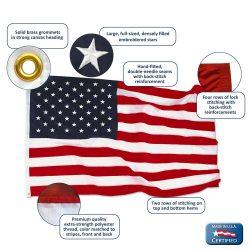 US flag detail